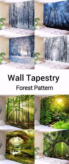 Apartment Home Decor Room Wallpaper, 3d Wall, Wall Art, Wall Patterns, Beautiful Bedrooms, Photography Props, Decoration, Wall Tapestry, Gardens