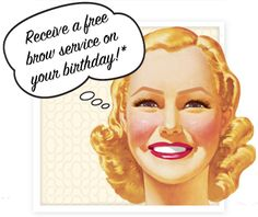 Benefit Brow Bar: Free Brow Service on Your Birthday