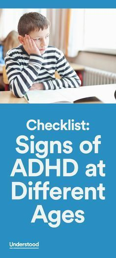 It's not always easy to spot ADHD symptoms. This checklist can help give you an idea of whether your child is showing signs of ADHD. Refer to this list as you observe your child over time.