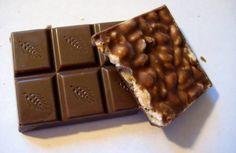cioccolato con riso soffiato