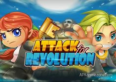 Attack for Revolution : Max Gold/Hearts/Gems/Ads Removed APK Mod