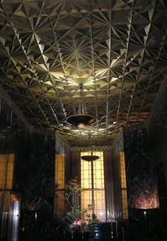Lobby of the The Stock Exchange Tower located at 155 Sansome St San Francisco, Timothy Pflueger - architect