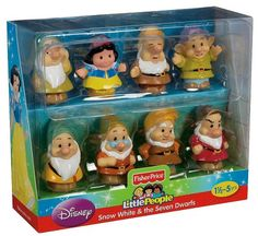 Right now at Target, get the Little People Snow White & the 7 Dwarfs Gift Set for just $9.99! And shipping is FREE!