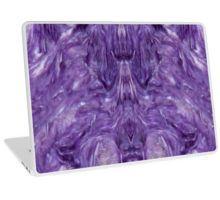 Charoite Laptop Skin by lightningseeds® for crystalapertures.rocks.