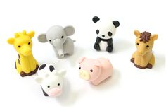 Eraser Animals