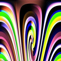 Gabriela.art / DA 113  Digital painting 50 x 50 cm