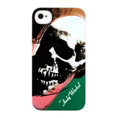 iPhone4 snapcase in vibrant Warhol Skull. Hello, it's Cool calling!