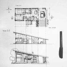 Love Drawing and Design? Finding A Career In Architecture - Drawing On Demand Interior Architecture Drawing, Architecture Concept Drawings, Architecture Sketchbook, Architecture Graphics, Architecture Student, Architecture Portfolio, Architecture Plan, Architecture Details, Architecture Colleges
