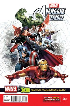 Preview: Marvel Universe Avengers Assemble #2, Cover - Comic Book Resources
