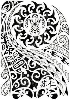 Polynesian half-sleeve 04 by dfmurcia.deviantart.com