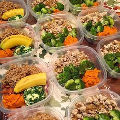 """""""When you know your macros and intake, your preps become precise like this one from @kdlrpfit - Download @mealplanmagic to always build customized meal…"""""""
