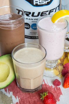 Whether you& looking to add more nutrients to your basic protein shake, or mix new flavors into your same old smoothie routine, we& got quick and easy recipes you& love! Easy Protein Shakes, Protein Shake Recipes, Protein Pack, Healthy Eating Tips, New Flavour, Quick Easy Meals, Healthy Choices, Nutrition