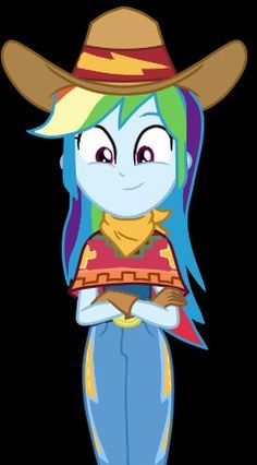 It comes from Five to Nine EQG Series - Rainbow Cowgirl