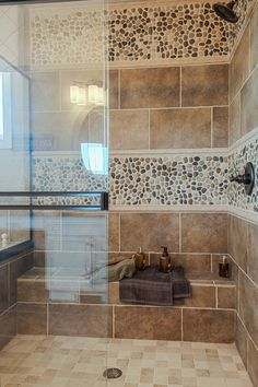 Tile And Stone Shower Walls