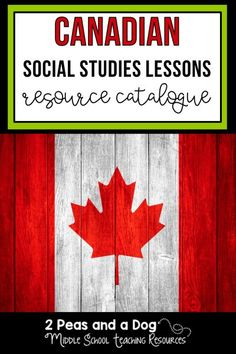 Canadian Social Studies Lesson Catalogue: Looking for middle school History and Geography lessons? Download this free well-organized catalogue of resources created by 2 Peas and a Dog. You will find lesson materials for Grade 7 and 8 History and Geography. #canadianhistory #canadiangeography #lessonplans #canadiansocialstudies Geography Lesson Plans, History Lesson Plans, Geography Activities, Middle School History, Middle School Teachers, High School, Social Studies Resources, Teaching Resources, Teaching Tools