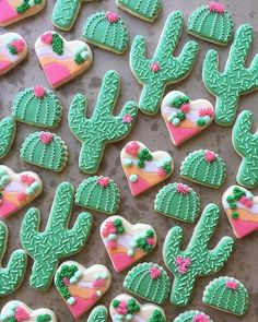 "3,730 Likes, 24 Comments - Wilton Cake Decorating (@wiltoncakes) on Instagram: ""Loving these fun cacti cookies from @sweeterwynsbakedgoods! Can you share one with us, please?…"""
