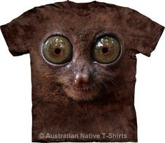Big Face Tarsier Adults T-Shirt