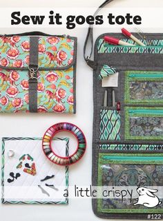 Looking for your next project? You're going to love Sew it goes tote by designer Kristin Lawson.