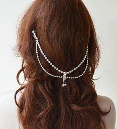 Bridal Hair Accessory Wedding Headband Pearl Wedding by ADbrdal