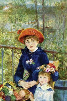 On the Terrace, by Pierre-Auguste Renoir