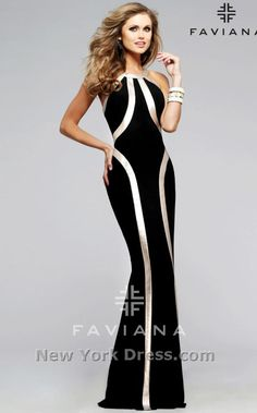 Faviana 7785 Dress - NewYorkDress.com