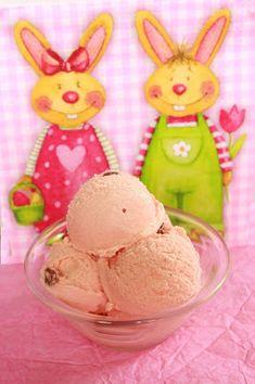 Puncs fagyi Strawberry Ice Cream, Trifle, Frozen Yogurt, Gelato, Parfait, Sweets, Cookies, Cake, Food