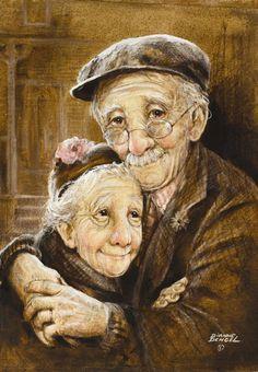 Мир дедушек и бабушек от Дайанн Денгел