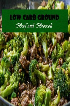 This Low Carb Ground Beef and Broccoli Recipe takes less than 30 minutes to make, tastes tremendous, and is Keto pleasant. This is an extremely good low-carb dinner or lunch and reheats properly for meal prep. #beefrecipes #lowcarbrecipes #broccolirecipes #ketorecipes Cheap Recipes, Easy Delicious Recipes, Top Recipes, Cheap Meals, Quick Recipes, Beef Recipes, Chicken Recipes, Easy Meals, Broccoli Dishes