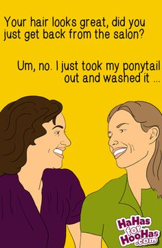 Anyone else have this conversation ... or ... ? Send this #funnyecard to a friend at hahasforhoohas.com! :D