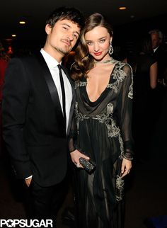 Orlando Bloom and Miranda Kerr at the Vanity Fair #Oscars bash