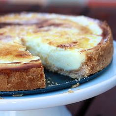 The Sweets Life: Creme Brulee Cheesecake