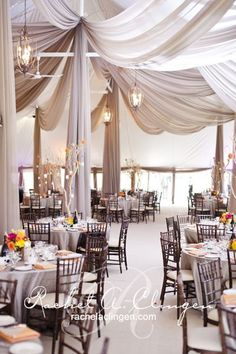 Just wanting to highlight how draping and up lighting can significantly change the venue. It adds free flowing vibes to the room. Always be open to considering using new textures and materials as they can transform the space with ease.