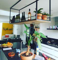 kitchen ideas – New Ideas New Kitchen, Kitchen Dining, Kitchen Decor, Interior Design Living Room, Living Room Designs, Ceiling Design Living Room, Iron Furniture, Home Upgrades, Diy Garden Decor