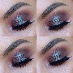 MAC blue-brown pigment