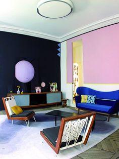 super colorful room