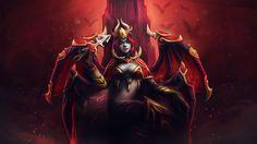 Queen of Pain - Sanguine Royalty, Magno Husein on ArtStation at https://www.artstation.com/artwork/VbOlb