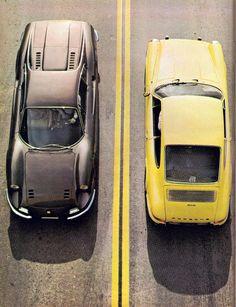 Ferrari Dino 246 vs Porsche 911S 1971