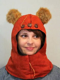 SO CUTE! These would be great Star Wars costumes! Ewok/wookiee dresses made to order - Boing Boing