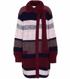 Wool, mohair and cashmere-blend cardigan | Chloé
