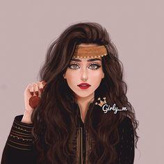 Imagen de girly_m, drawing, and art Girl M, Girly Girl, Girl Cartoon, Cartoon Art, Girly M Instagram, Sarra Art, Chica Cool, Cute Girl Drawing, Girly Drawings