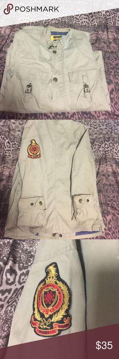 Women's rugby Ralph Lauren jacket!! Woman's rugby Ralph Lauren jacket size small 100% cotton button up jacket Rugby Ralph Lauren Jackets & Coats Blazers