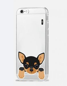 funda-movil-animales-Pinscher Scooby Doo, Phone Cases, Fictional Characters, See Through, Dog Design, Mobile Cases, Animales, Fantasy Characters, Phone Case