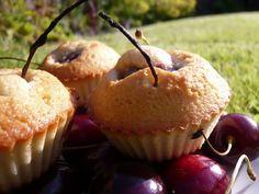Cherry Almond Teacakes