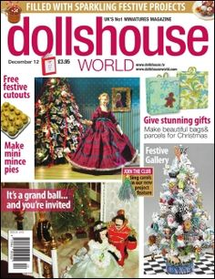 SUBSCRIBE TODAY AND CLAIM YOUR FREE GIFT. No more hunting around the shops for your favourite magazine...12 issues of the fantastic Dolls House World magazine delivered direct to your door! Dolls House World is brimming with miniature related news, chat, events, features and of course projects for you to get stuck into     ■ FREE GIFT: Subscribe for one year and we'll send you a beautiful handmade Chocolate Rose cake, with strawberries on a faux 'granite' board.
