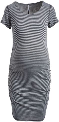 fa8f759eec0 Gray Scoop Neck Maternity Bodycon Dress. Lilly Scarlett · Not Your mother s  Maternity Wear