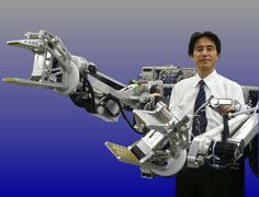 Japanese researchers developing Power Loader power amplification exoskeleton robot