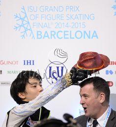 Figure skating. ISU Grand Prix Final. Men's free skating