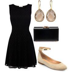 """little black dress"" by katella200 on Polyvore"