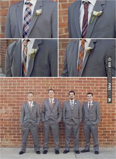 cute ties | CHECK OUT MORE IDEAS AT WEDDINGPINS.NET | #bridesmaids