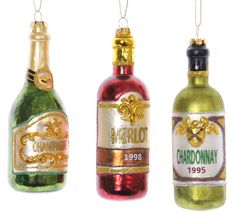 glass christmas ornaments | Glass Cheese Christmas Ornaments